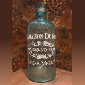 La Maison Du Rot – Glass Bottle