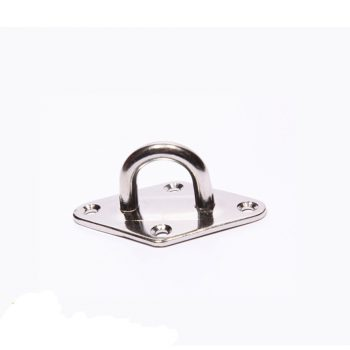Plate With Eye, Stainless Steel