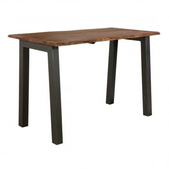 Edge Acacia Bar Table