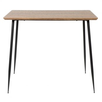 Bar Table With Tapered Legs