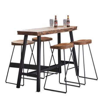 Edge Tree Trunk Bar Table