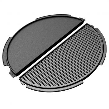 Big Green Egg – Half Moon Cast Iron Plancha Griddle