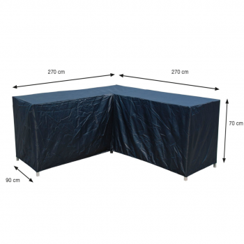Coverit Loungeset – Cover 270/270x90xH70