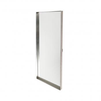 Mirror Raised Edge 40x100cm