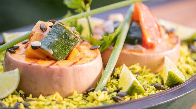 Vegetarian Curry With Basmati Rice