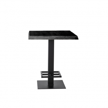 Counter Table – 80×80 Black