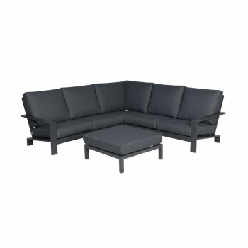 Lincoln Lounge Set – Carbon Black / Reflex Black