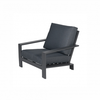 Lincoln Lounge Chair – Carbon Black / Reflex Black