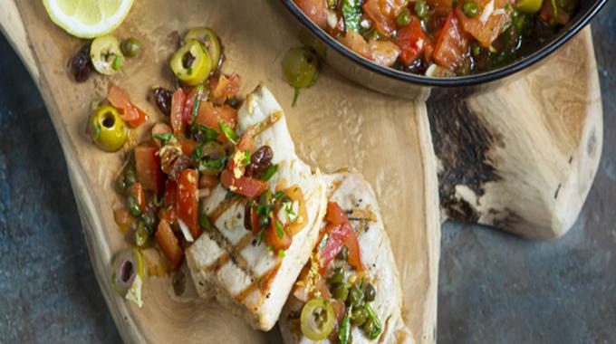 Grilled Tuna Steak The Sicilian Way