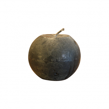 Anthracite Outdoor Ball Candle – 85H