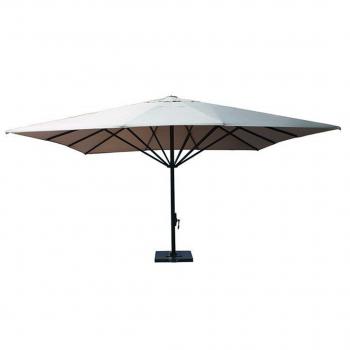 Typhoon Parasol – 500×500 – Carbon Black / Sand