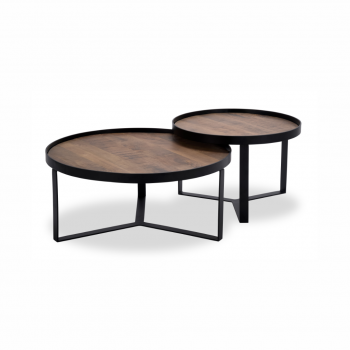 HUNT 005  Coffee Table (2 Piece)