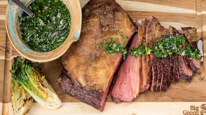 Slow-cooked Beef Rump