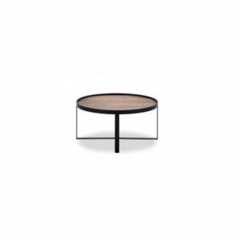 Coffee Table – Hunt 003 – Mango Natural – Metal Matt Black