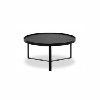 Coffee Table – Hunt 004 – Mango Black – Matt Black