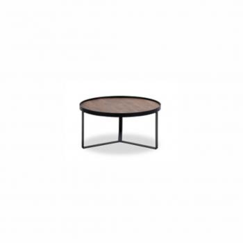 Coffee Table – Hunt 004 – Mango Natural – Metal Matt Black