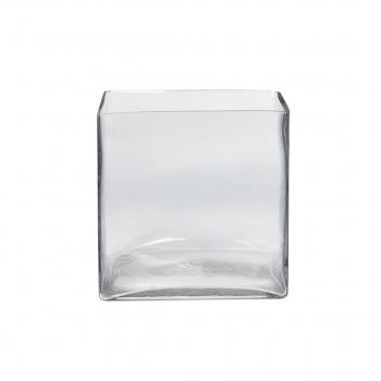 Square Glass 20x20x20 Cm