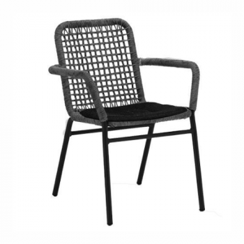 Atrope Dining Chair – Anthracite