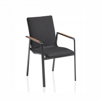 Diamond Dining Chair (anthracite / Sooty)
