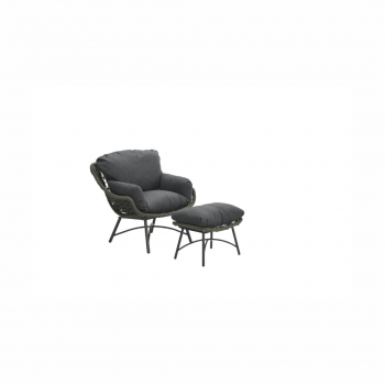 Logan Chair With Footrest