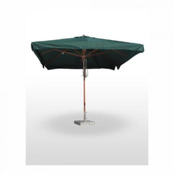Parasol Extendable Madera 3×3 M – Ecru